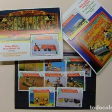 Sellos: ST. VINCENT THE GRENADINES 1995 NOËL DISNEY JOUETS ANCIENS YVERT 2646 / 53 + BF 314 /15 ** MNH. Lote 113537971