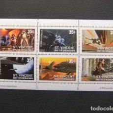 Sellos: ST. VINCENT THE GRENADINES 1996 LA GUERRE DES ÉTOILES YVERT 2848 /53 ** MNH. Lote 113654251