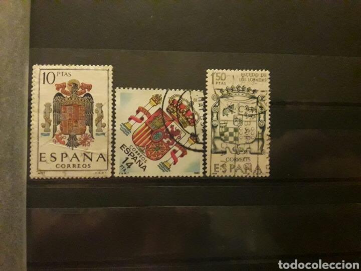 Sellos: Lote Sellos España. Escudos. - Foto 2 - 114044168