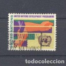 Sellos: ONU, NACIONES UNIDAS, 1967, ARTE, USADO. Lote 115664447