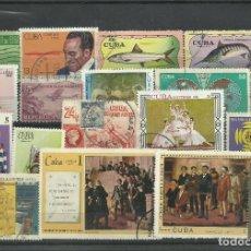 Sellos: LOTE DE SELLOS DE CUBA. Lote 116515243