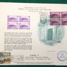 Sellos: PURIPEX 1977. PUERTO RICO. NACIONES UNIDAS. Lote 118725383