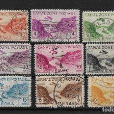 Sellos: CANAL DE PANAMA 1931-43 Y 1946-49 CORREO AEREO VISTA DEL CANAL SERIE COMPLETA. Lote 119173735