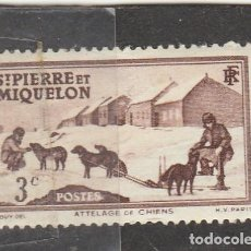 Sellos: ST. PIERRE ET MIQUELON 1938 - YVERT NRO. 168 - SIN GOMA. Lote 119488171