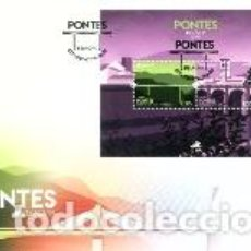 Sellos: PORTUGAL & FDCB EUROPA AZORES CPTE, PUENTES 2018 (3283). Lote 120727519