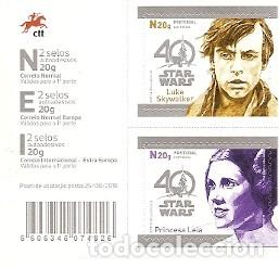 PORTUGAL ** & 40 ANOS STAR WARS 2017 (799) (Sellos - Temáticas - Varias)