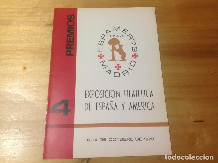 Sellos: ESPAMER 73 . EXPOSICION FILATÉLICA año 1973 . 4 LIBROS - CATÁLOGOS - BOLETIN - Foto 7 - 123910475