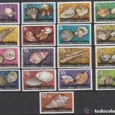 Sellos: GRENADINES OF ST. VINCENT. CONCHAS Y MOLUSCOS. SERIE. **.MNH.. Lote 124523931