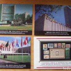 Sellos: LOTE SELLOS NUEVOS ONU EMISIÓN GINEBRA/ VIENA/ NUEVA YORK (1988/1989) NACIONES UNIDAS. Lote 125445887