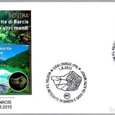 Sellos: MATASELLOS METEORITO DE BARCIS. BARCIS, ITALIA, 2015. Lote 125839511