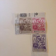 Sellos: TIMBRES FISCALES. Lote 127869339