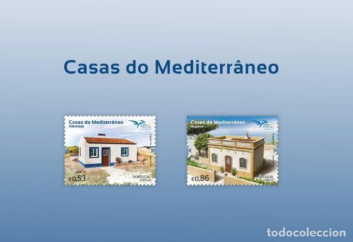 PORTUGAL ** & CASAS DEL MEDITERRÁNEO 2018 (6819) (Sellos - Temáticas - Varias)