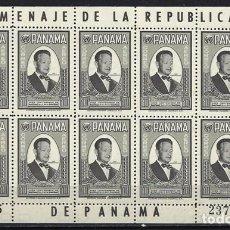 Sellos: PANAMÁ 1961 - HOJA BLOQUE NUEVA **. Lote 128478331