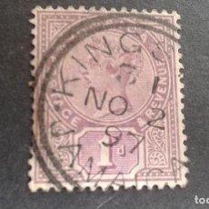 Sellos: JAMAICA,COLONIA BRITÁNICA,1883-1896,REINA VICTORIA,YVERT 27,SCOTT 24,USADO,(LOTE AG). Lote 128696355