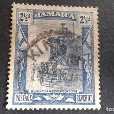Sellos: JAMAICA,COLONIA BRITÁNICA,1919-1921,YVERT 85,SCOTT 79,USADO,(LOTE AG). Lote 128697763
