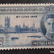 Sellos: FALKLAND ISLANDS,COLONIA BRITÁNICA,1949,ANIVERSARIO FIN GUERRA,YVERT 94**,SCOTT 98**,(LOTE AG). Lote 128703427