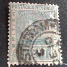 Sellos: BRITISH GUIANA,GUAYANA BRITÁNICA,1889-1903,SCOTT 131,USADO,(LOTE AG). Lote 128720123