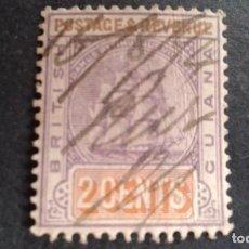 Sellos: BRITISH GUIANA,GUAYANA BRITÁNICA,1889-1903,SCOTT 132,USADO,(LOTE AG). Lote 128720299