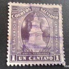Sellos: EL SALVADOR,1924-1926,50º ANIVERSARIO U.P.U,YVERT 449,SCOTT 495,USADO,(LOTE AG). Lote 128774999