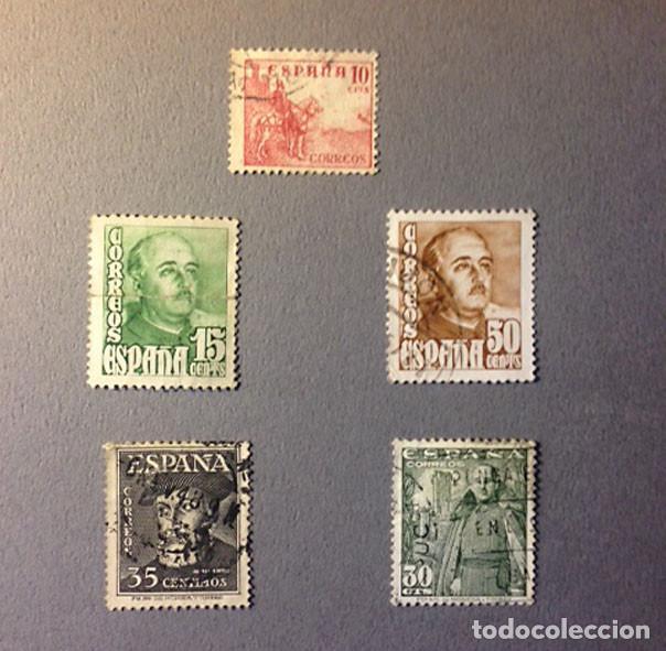 SELLOS ESPAÑA - 1948-1954 - VARIOS - USADOS (Sellos - Temáticas - Varias)