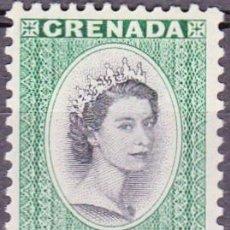 Sellos: 1953-1959 - GRANADA - REINA ISABEL II DEL REINO UNIDO - YVERT 163 - NUEVO. Lote 132132186