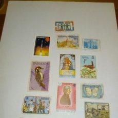 Sellos: LOTE 14 SELLOS CARIBE REPUBLICA DOMINICANA PANAMA DOMINICA SAN VICENTE BARBADOS ISLAS VÍRGENES. Lote 132342125