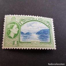 Sellos: TRINIDAD Y TOBAGO,1953,ISABEL II Y VISTAS,SCOTT 72**,NUEVO SIN FIJASELLO,(LOTE AG). Lote 134067558