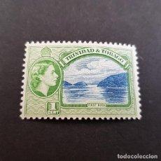 Sellos: TRINIDAD Y TOBAGO,1953,ISABEL II Y VISTAS,SCOTT 72**,NUEVO SIN FIJASELLO,(LOTE AG). Lote 134067606
