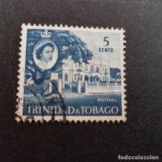 Sellos: TRINIDAD Y TOBAGO,1960,ISABEL II Y VISTAS,SCOTT 91,USADO,(LOTE AG). Lote 134076314