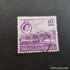Sellos: TRINIDAD Y TOBAGO,1960,ISABEL II Y VISTAS,SCOTT 94,USADO,(LOTE AG). Lote 134076442
