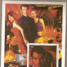 Sellos: ANGOLA ** & JAMES BOND 007, THE WORLD IS NOT ENOUGHT 2002 (6532) . Lote 141197053