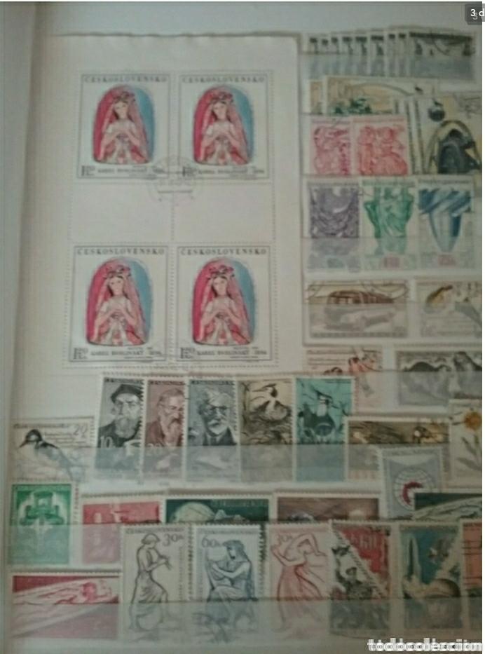 Sellos: Clasificador (nuevo, 4 hojas) Checoslovaquia matasellados. 1918 - 1992. Sellos + 3 HB. - Foto 3 - 134721641