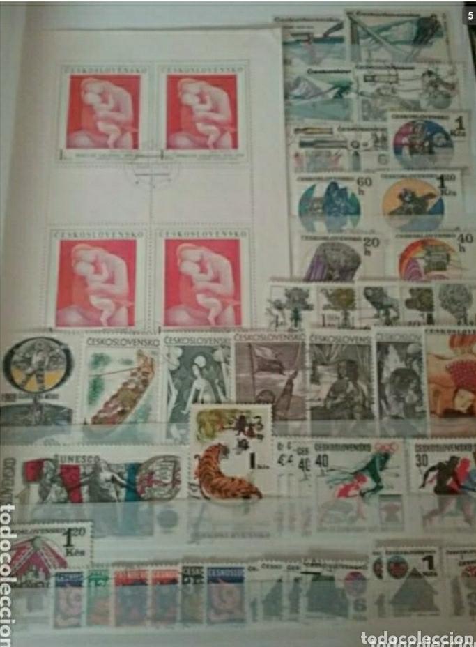 Sellos: Clasificador (nuevo, 4 hojas) Checoslovaquia matasellados. 1918 - 1992. Sellos + 3 HB. - Foto 5 - 134721641