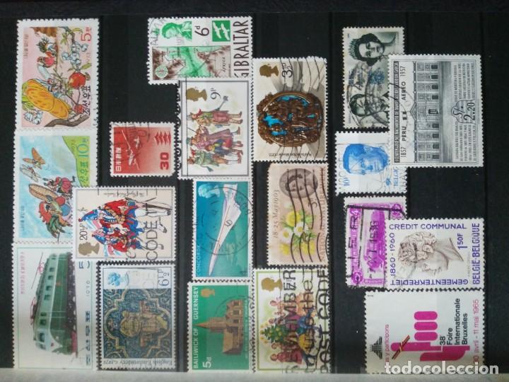 Sellos: Lote clasificador y mas de 200 sellos - Foto 2 - 135716143