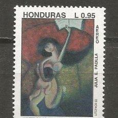 Sellos: HONDURAS CORREO AEREO YVERT NUM. 842 ** SERIE COMPLETA SIN FIJASELLOS . Lote 139968798