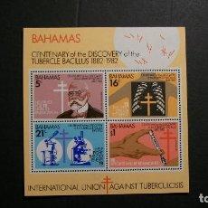 Sellos: BAHAMAS-1982-Y&T BL.36**(MNH)-A 10%. Lote 140461870