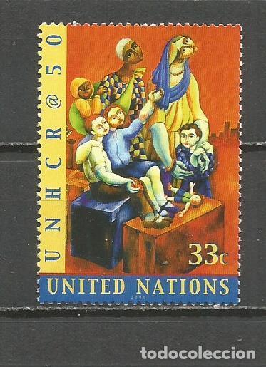 NACIONES UNIDAS NUEVA YORK YVERT NUM. 838 ** SERIE COMPLETA SIN FIJASELLOS (Sellos - Extranjero - América - Otros paises)