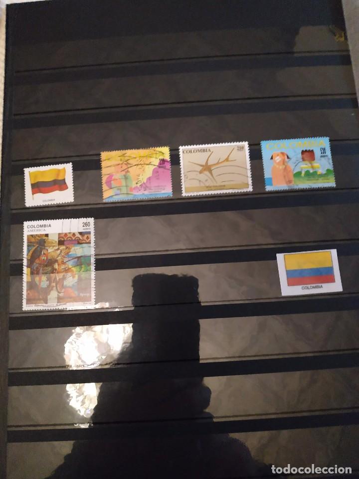 Sellos: 6 PAISES SUDAMERICANOS 48 SELLOS + 12 BANDERAS - Foto 3 - 142981586