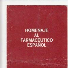 Sellos: HOMENAJE AL FARMACEUTICO ESPAÑOL - VIÑETAS. Lote 143722582