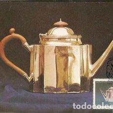 Sellos: SUDÁFRICA & MAXI, PLATERÍA DEL CABO, CIUDAD DEL CABO 1985 (591). Lote 143891370