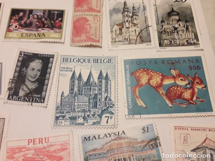 Sellos: Lote de 35 sellos varias temáticas y países - Foto 4 - 143999202