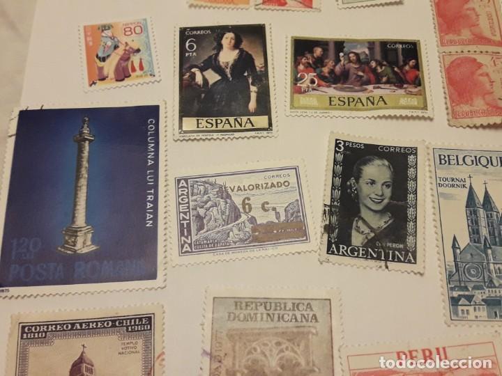 Sellos: Lote de 35 sellos varias temáticas y países - Foto 5 - 143999202