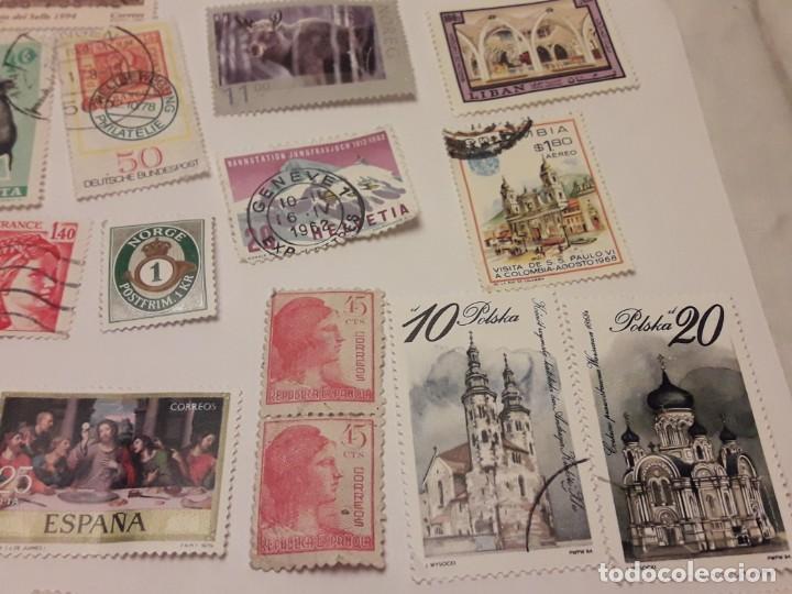 Sellos: Lote de 35 sellos varias temáticas y países - Foto 6 - 143999202