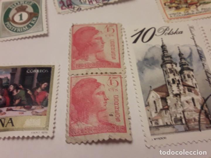 Sellos: Lote de 35 sellos varias temáticas y países - Foto 10 - 143999202