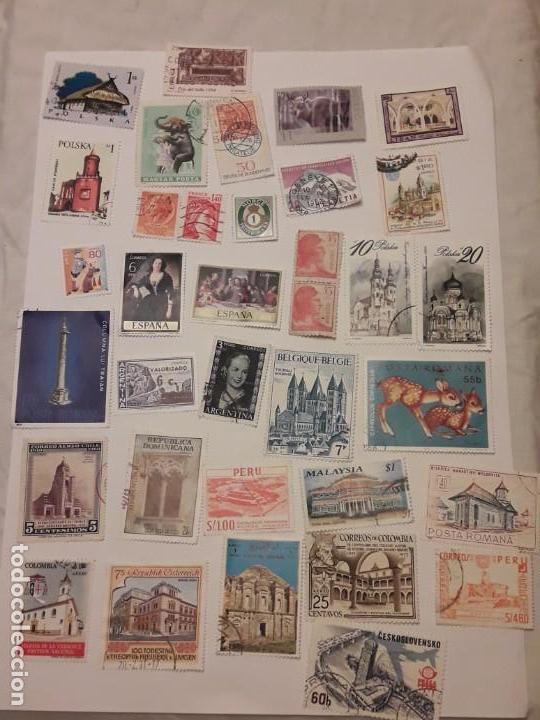 Sellos: Lote de 35 sellos varias temáticas y países - Foto 12 - 143999202