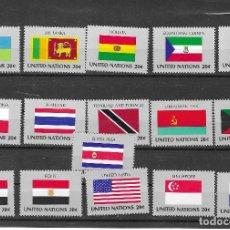 Sellos: NACIONES UNIDAS Nº 341 AL 356 (**). Lote 147675950