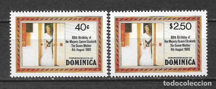 DOMINICA 1980 SC 676-677 1.55 ** MNH - 7/16 (Sellos - Extranjero - América - Otros paises)