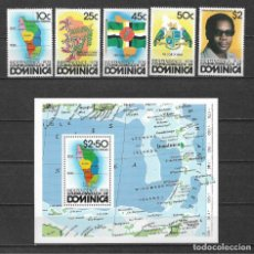 Sellos: DOMINICA 1978 ** MNH - INDEPENDENCIA DOMINICANA. -124. Lote 148648562