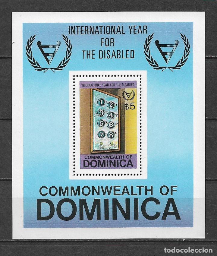 DOMINICA 1981 ** MNH - BOTONES DEL ELEVADOR -124 (Sellos - Extranjero - América - Otros paises)