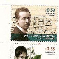 Stamps - Portugal ** & Nombres de Historia y Cultura Portuguesa 2018 (7668) - 148745430